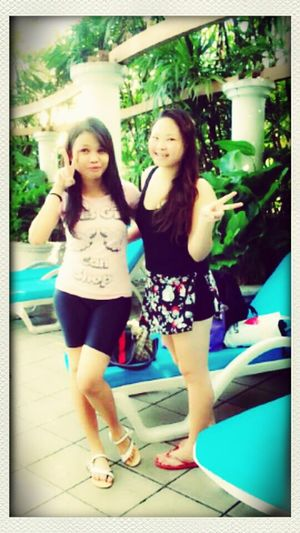 Swimming Time Hangout Me With My Terrible Collegue ♥♥♥