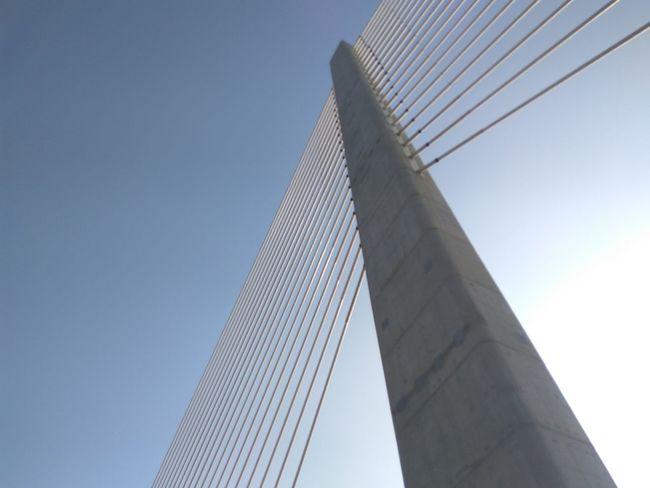 Modern Architecture Bridge - Man Made Structure Built Structure Steel Low Angle View Travel Destinations Outdoors