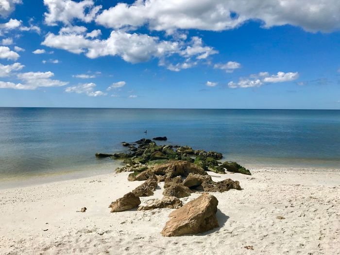 Sea Sky Water Beach Cloud - Sky Land Beauty In Nature Tranquility Horizon Over Water Tranquil Scene Horizon Scenics - Nature Nature Sand Non-urban Scene Idyllic No People