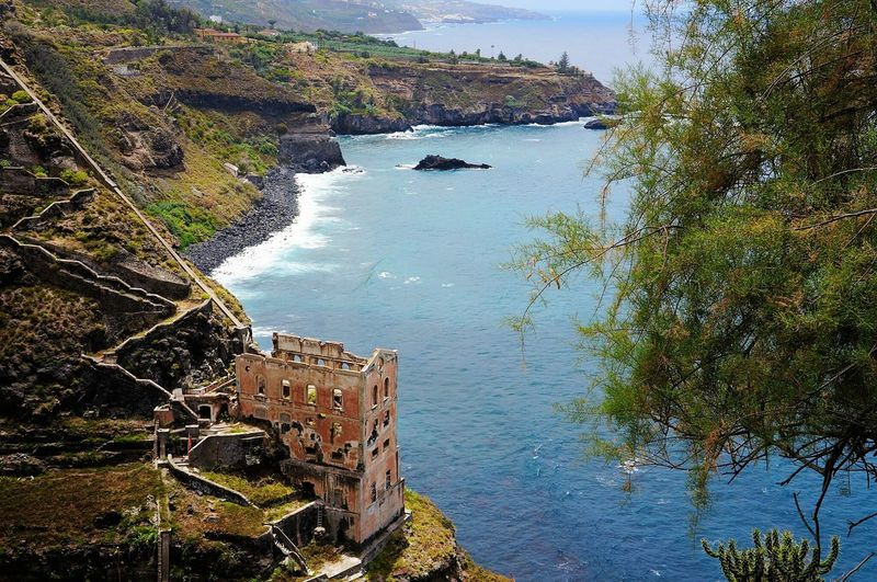 Water Tree Reflection Lake Nature No People Travel Destinations Outdoors Day Built Structure Sky Nautical Vessel Scenics Beauty In Nature Architecture Tenerife Rambla De Castro