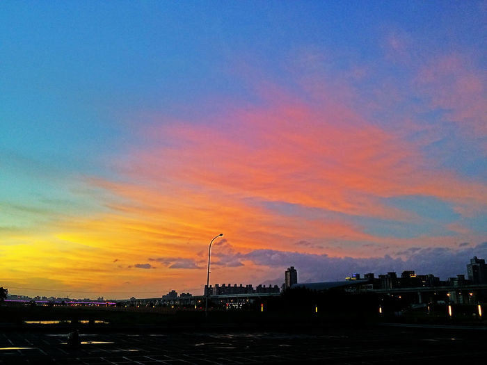 Sunset 夕陽 火燒云 火燒雲
