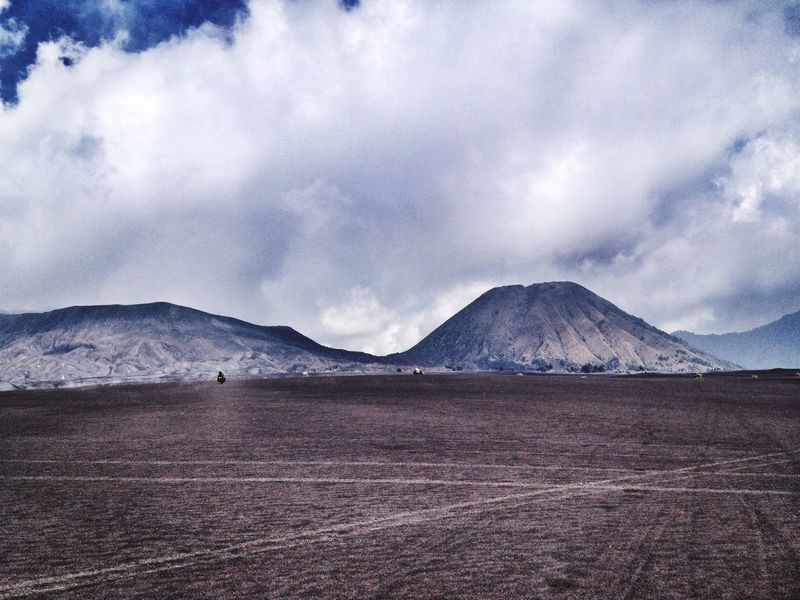 Panorama Nature INDONESIA Instanusantara Bromo TNBTS Pasirberbisik IPhoneography Snapseed Exploreeastjava