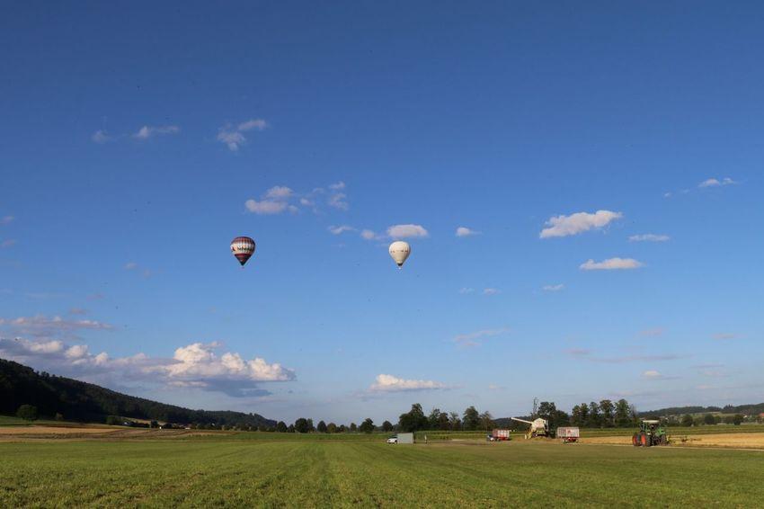 Balon Balonfahrt Sky Blue Sky