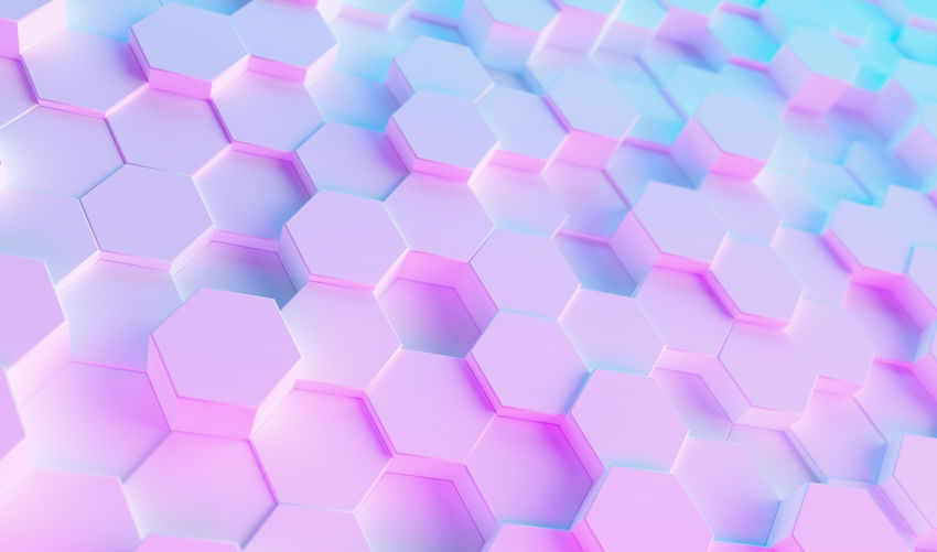 neon uv blue and purple futuristic hexagon surface White Wallpaper Virtual Reality Trendy Technology Surface Studio Shot Still Life Square Shape Row Repetition Realistic Rainbow Purple Play Pink Color Pink Pattern Party Octagon No People Network Neon Modern Light LED Large Group Of Objects Indoors  Hive Hi-tech High Angle View Hexagonal Hexagon Glow Geometry Geometric Shape Gaming Gamer Futuristic Full Frame Fluorescent Event Entertainment Electric Effect Disco Digital Design Cyber Copy Space Concept Computing Computer Composition Colorful Close-up Business Blue Backgrounds Background Art Abundance Abstract