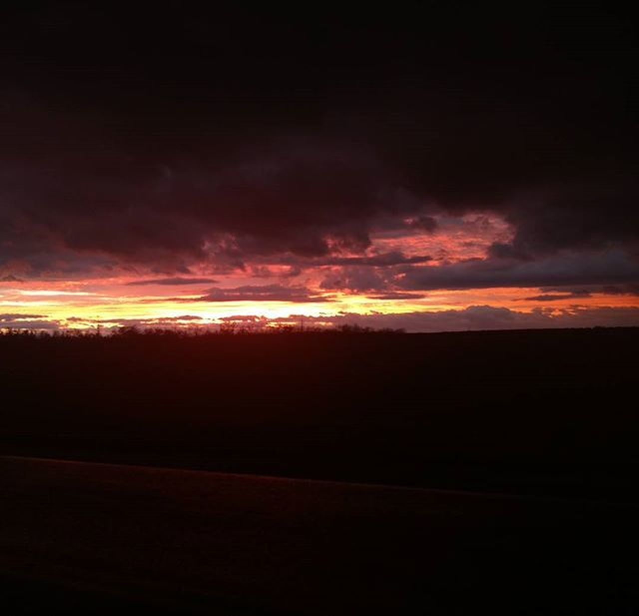 cloud - sky, sunset, dramatic sky, scenics, sky, tranquil scene, majestic, nature, outdoors, night, red, no people, beauty in nature, tranquility, landscape, space, astronomy