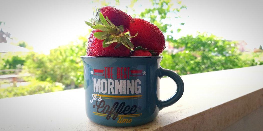 Morning 🍓🤤