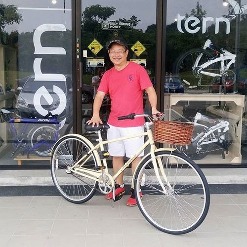 Thanks for coming today ! I hope you love the Americano 700C Dutch City Bicycle. See you again ! Dutchbike Holland CityLifeStyle Lifestyle Healthy Motivation Instamalaysia Instashop Igmalaysia Vscocam Malaysia Igersmalaysia Igshopmalaysia Instashopmalaysia Photooftheday Malaysiaonline Malaysiaonlineshop Instagrammers Brandimage Gainwithxtiandela Instagramkeconnect Design Customerexperience Velocity Citybicycle bikeoftheday retrobicycle instabicycle classicbicycle gwcycle