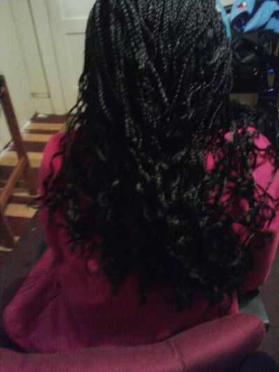 I finally finished my cousin hair