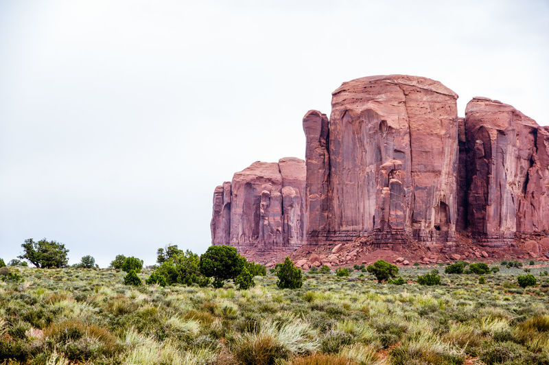 Beauty In Nature Day Geology Landscape Monument Valley Tribal Park Nature No People Outdoors Rock - Object Rock Formation Sky