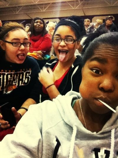 Gabby Cat && Me At The Game
