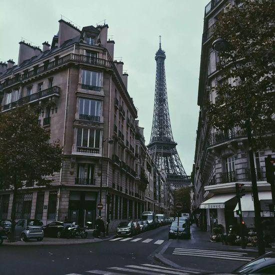 Gloomy Paris