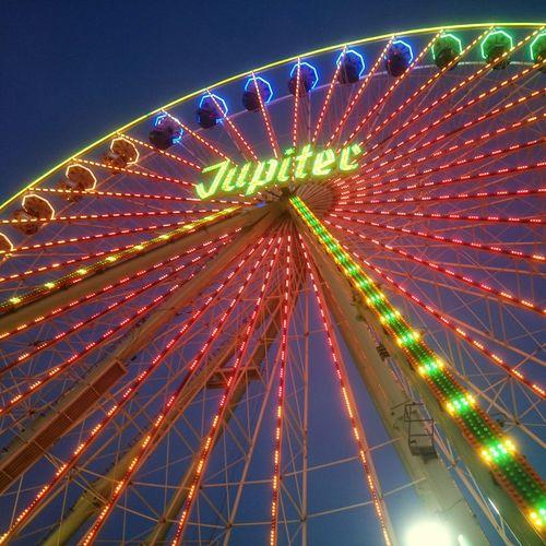 Das Riesenrad auf dem Herbstvolksfest in Köln