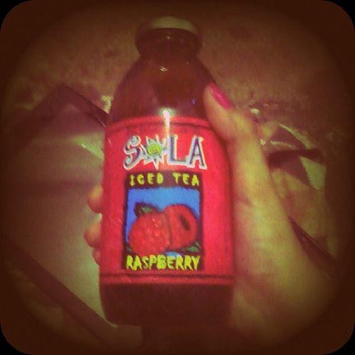 Midnight thirst quencher... Sola Raspberry Icedtea Thirstquencher