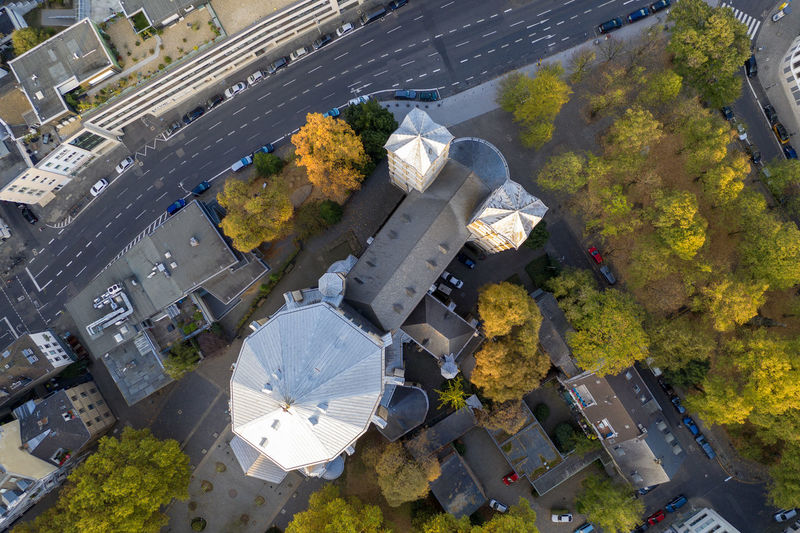 St. Gereon Church, Cologne Church Drone Photography Aerial Shot Building Exterior City Day High Angle View Outdoors
