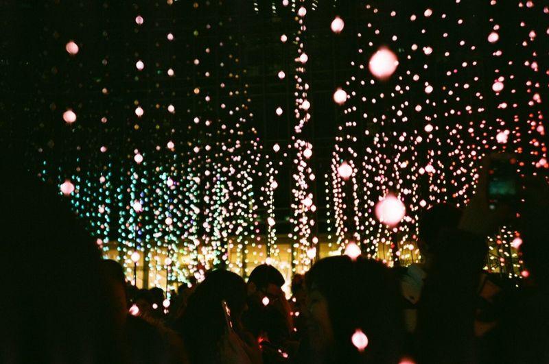 light show art