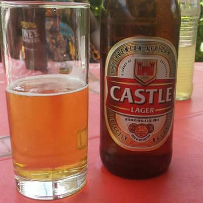 Beerchallenge ...This is one is my fav. Taste like Caribbeer ...anyway on to the next one. Castlebeer Tanzania MyAfricanVacation Backtomyroots