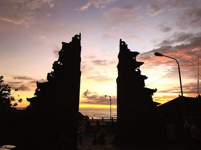Sunset from Bali Sunset Bali, Indonesia Tanahlot, Bali, Indonesia Beatiful Sky Outdoors Nature First Eyeem Photo