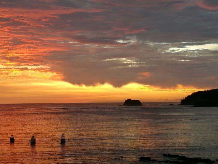 Sunset Sea Dramatic Sky Romantic Sky Nature No People The Great Outdoors - 2017 EyeEm Awards