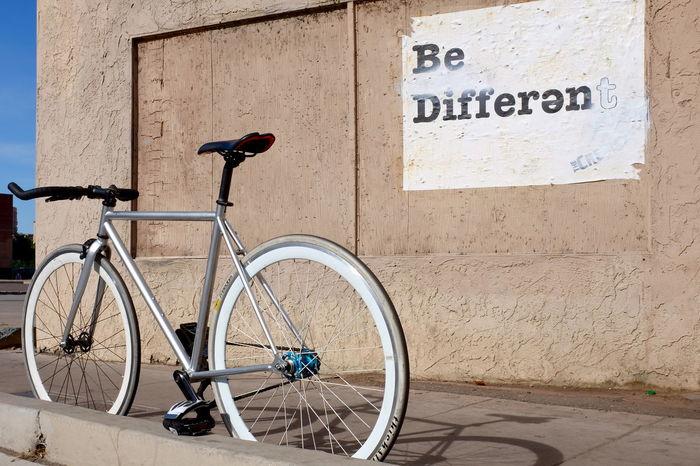 make a statement Arizona Bicycle Bike Month Biking City Copy Space Cycle Fixed Gear Fixedgear Fixie Fixieporn Mode Of Transport Phoenix Street Photography Streetphotography Urban
