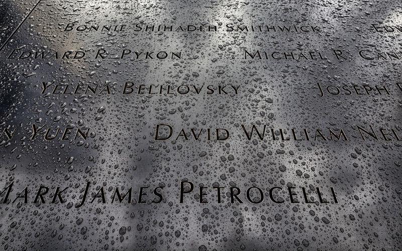 raindrops on 911 memorial 911 Memorial Mourning Raindrops Names On 911 Memorial Raindrops On Memorial Still Ife