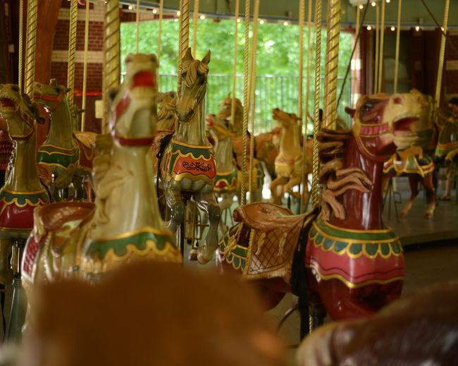 View of merry-go-round