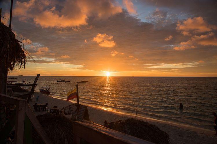 Playa Blanca, isla Baru Beach Sun Tranquility