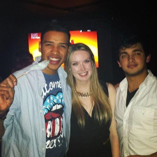 My Bestysss big Bro and Sis @rebeccahendry_ & Liam Hcoassociates hollister nightout leavingparty nevrrland @garage