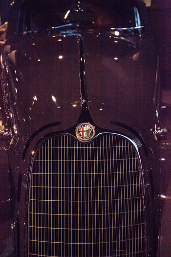 Naples, Florida, USA – May 5, 2018: Grey 1938 Alfa Romeo Tipo 8C 2900B Berlinetta Touring displayed at The Revs Institute in Naples, Florida. Editorial use only. 1938 8C 2900B Alfa Romeo Antique Antique Car Berlinetta Berlinetta Touring Classic Car Fast Car Old Cars Revs Institute The Rev Institute The Revs Institute Metal Old Car Race Car Vehicle Vintage