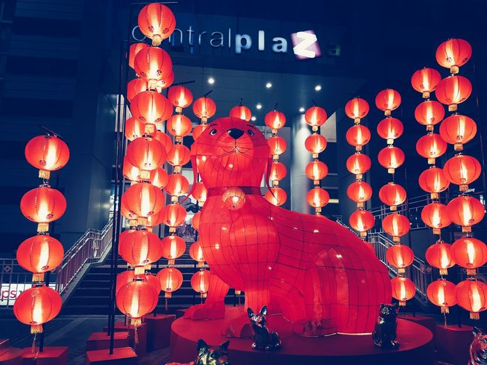 EyeEm Selects Red Color Chinese Lantern Festival Chinese New Year