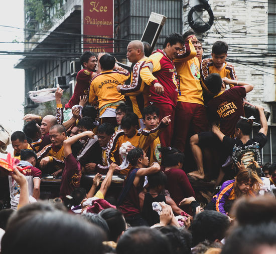 Catholic Love Devotion Nazareno Seaofpeople Large Group Of People Crowd Adult Performance Togetherness Arts Culture And Entertainment Music
