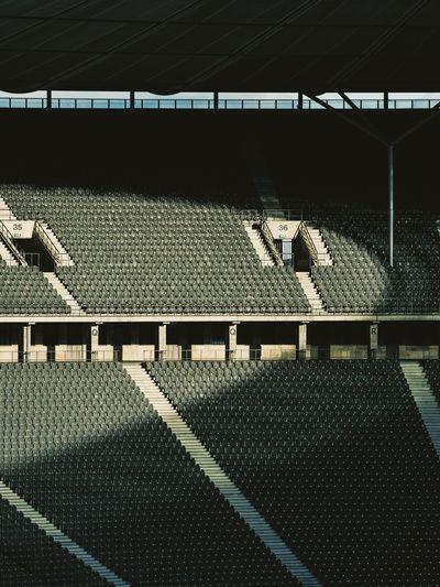 Architectural Detail Architecture Architecturelovers Clean Minimal Minimalistic Minimlism Olympiastadion Olympiastadion Berlin Stadium Stadium Seating