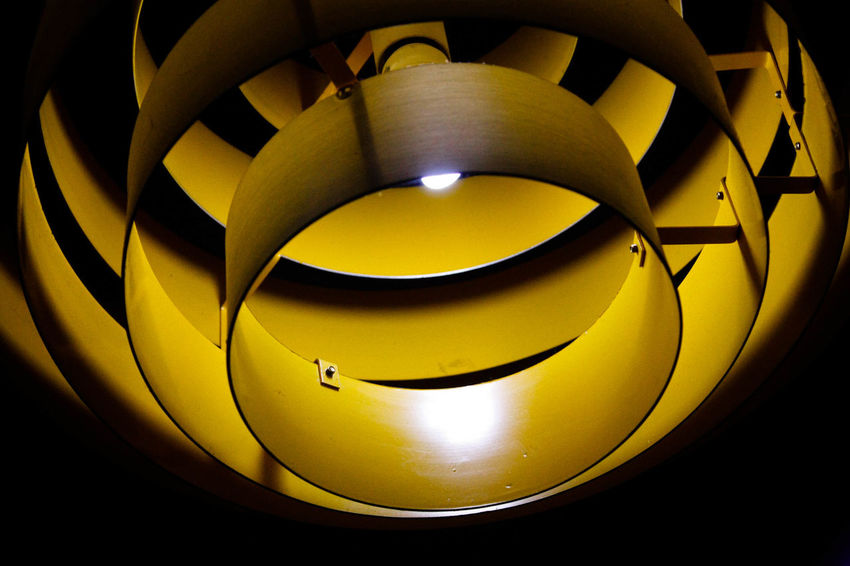 Electricity  Illuminated Indoors  Lighting Equipment Lights No People Shape Yellow
