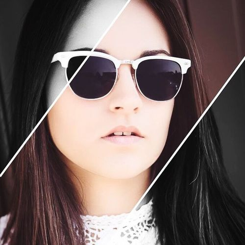 ☀️ Beauty Feinfarben Sunglasses Summer Model Creative Photoshop Retouch