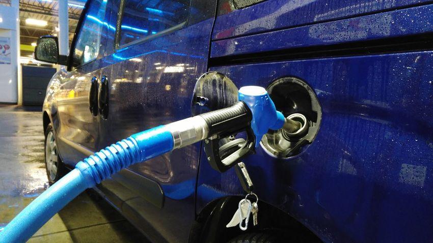 tanken Tankstellen Foto Tanken Zapfsäule Door Blue