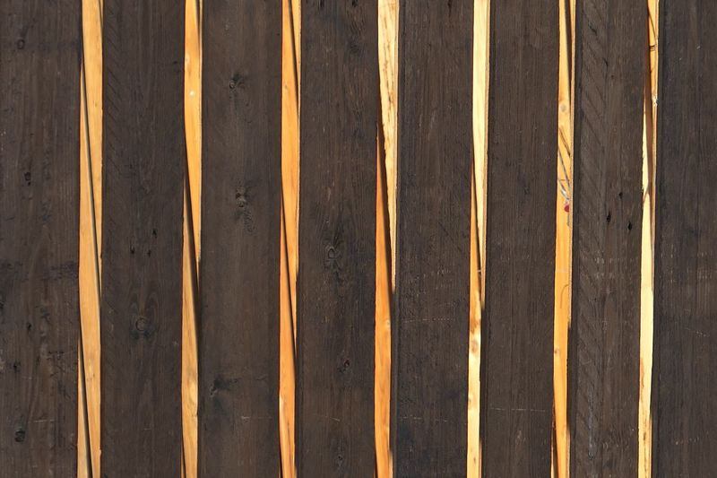 Wood - Material Wood Fence Barrier Pattern Full Frame No People Backgrounds Day Striped Textured