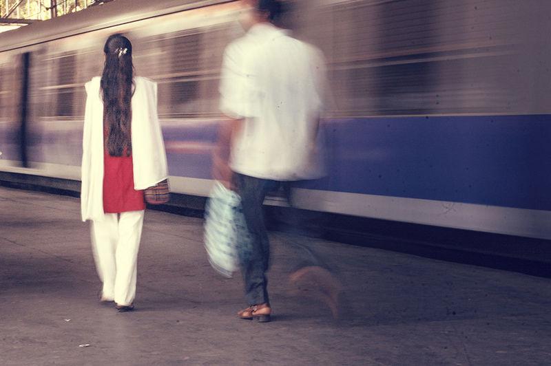 Mumbai Byculla Railwaystation Public Transportation