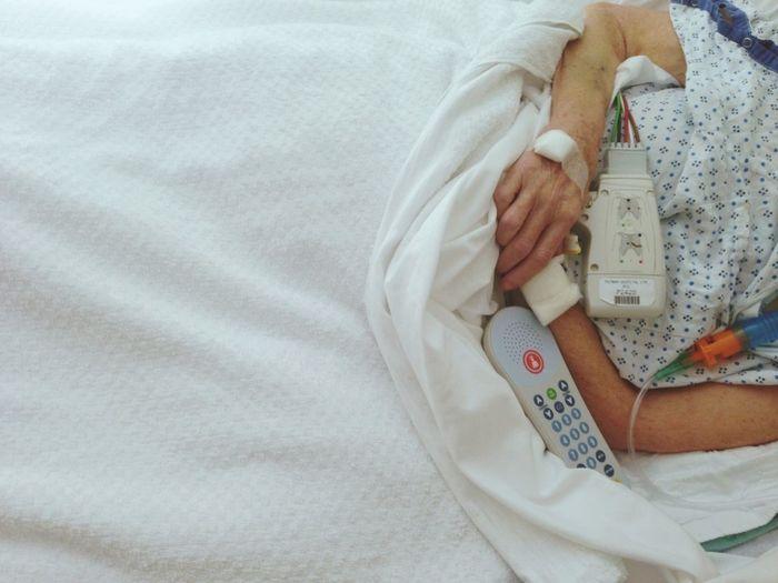 Memaw Love Family Hospital Feeling Sick