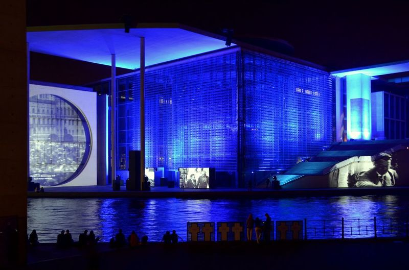 Blue hour Night Photography Tadaa Community Architecture My Fuckin Berlin