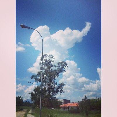 Vejo um elefante... haha Nuvens Elefantedealgodão