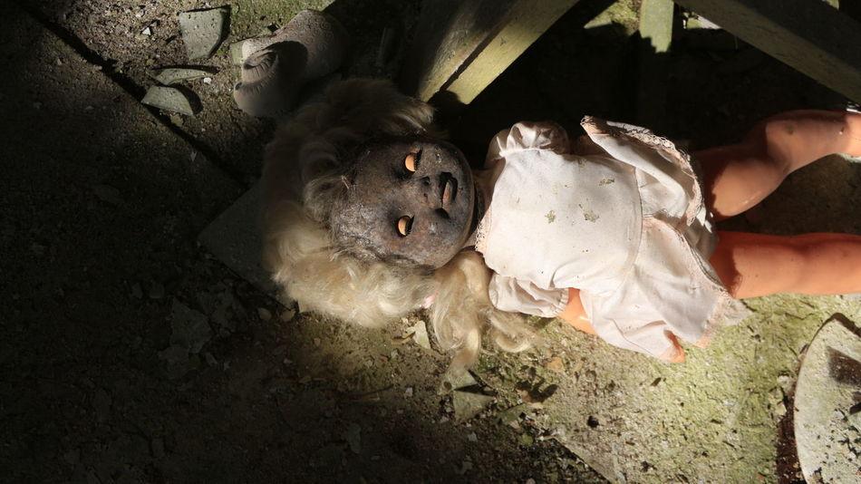 Atomkraft Chernobyl Kindergarten Puppe Puppy Spielzeug Ukraine