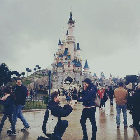 Willyoumarryme Mivuoisposare? Paris, France  Paris Je T Aime Disneyland Paris Disney Sky Meandyou Day Loveofmylife Iloveyou Marryme OneYearAgo Tiamo Girlfriend