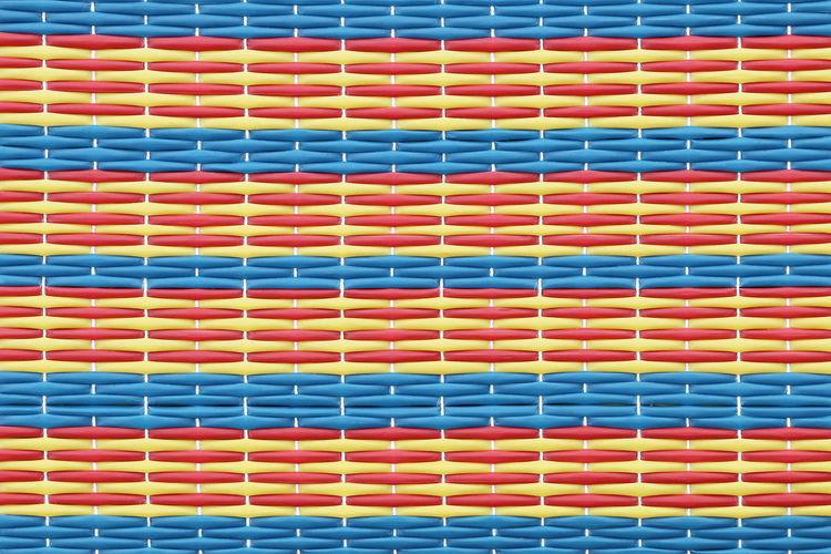Full frame shot of patterned mat