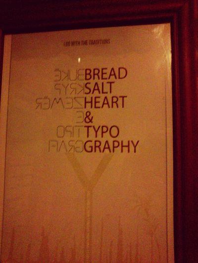 Typography çarshia Presheva Bukëkrypëzemër