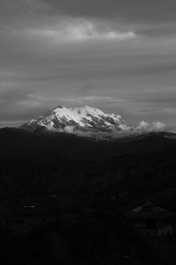 Beauty In Nature Bolivia Cloud Cloud - Sky Cloudy Day Idyllic Illimani Landscape Majestic Mountain Mountain Range Nature No People Non Urban Scene Non-urban Scene Outdoors Physical Geography Remote Scenics Sky Snowcapped Mountain Tranquil Scene Showcase July