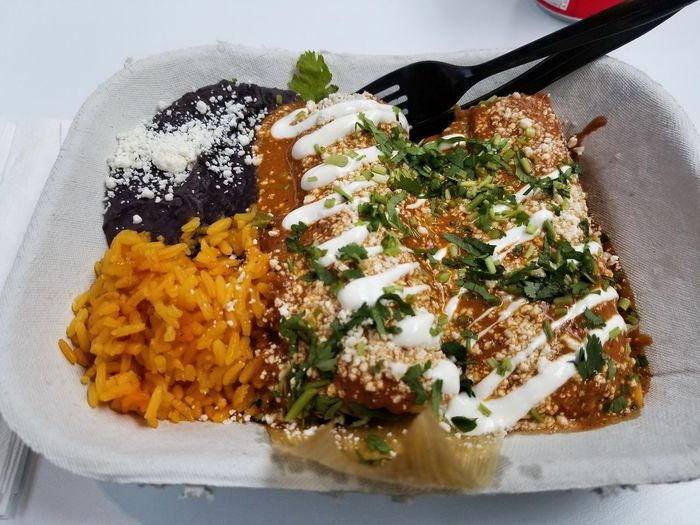 Tamales. Food
