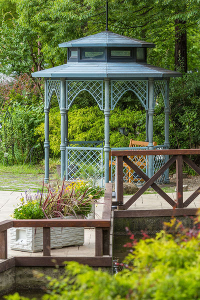 Flowers,Plants & Garden Gazebo Gazebo At The Park Built Structure Garden No People Outdoors Park Tree