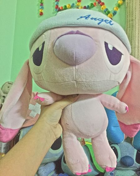 New Gift Cheer Up Stich Angel New Mate Love It <3