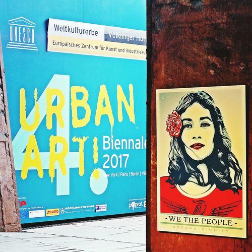 Weltkulturerbe Völklinger Hütte Urban Art Biennale Multi Colored Built Structure ArtWork Art Is Everywhere EyeEmNewHere Inspirations Everywhere. EyeEm Gallery Painted Image Typography & Design Typographyinspired