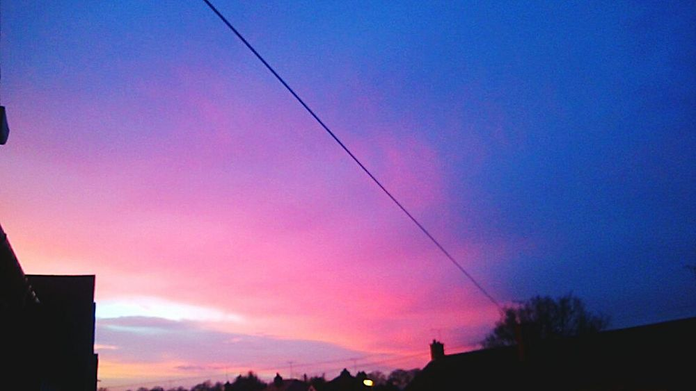 Sky Outdoors Sunset Nature Illuminated No People