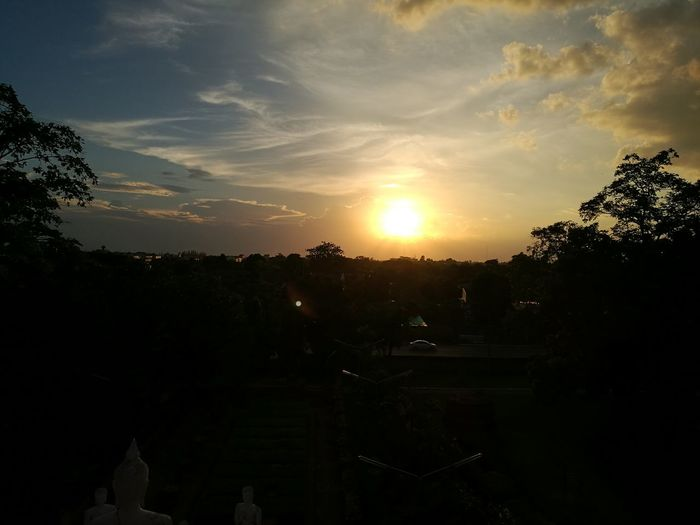 Sunset At Ayutthaya TH